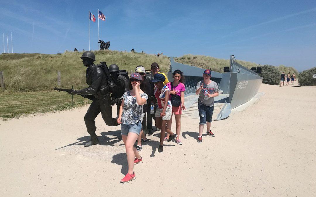 Le dispositif ULIS replonge dans la bataille de Normandie !
