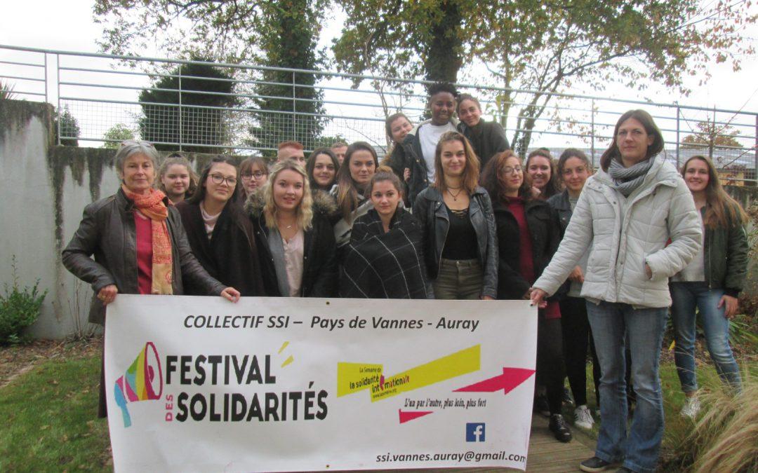 Les 1eres SAPAT participent au Festival des Solidarités