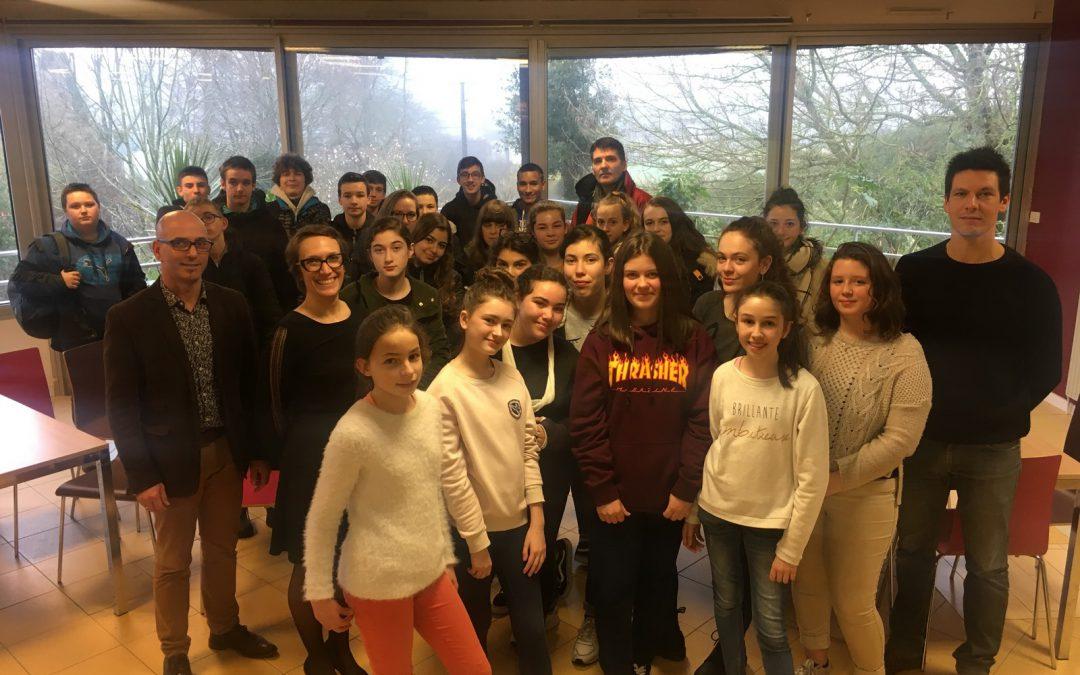 Ateliers métiers : Des collégiens découvrent le lycée