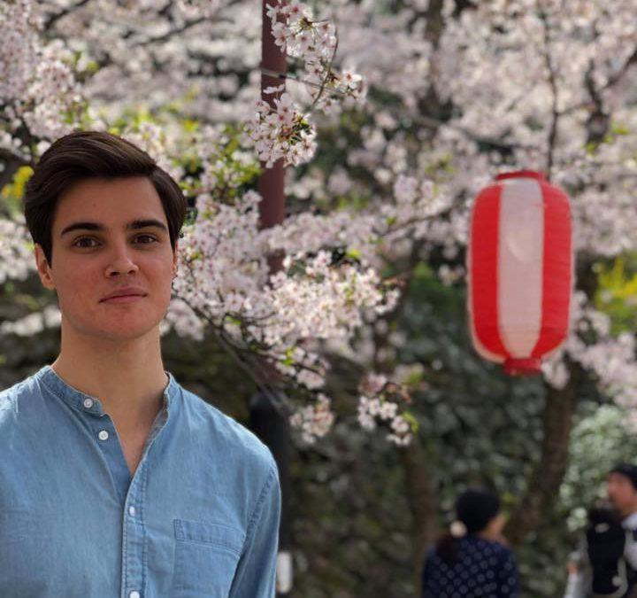 Pierre, un ancien de Kerplouz parti vivre au Japon