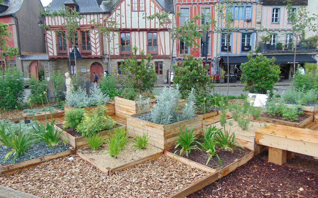 Inauguration des Jardins éphémères de Vannes 2018