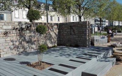 Les CQP COP participent aux jardins éphémères de la ville de Vannes 2018