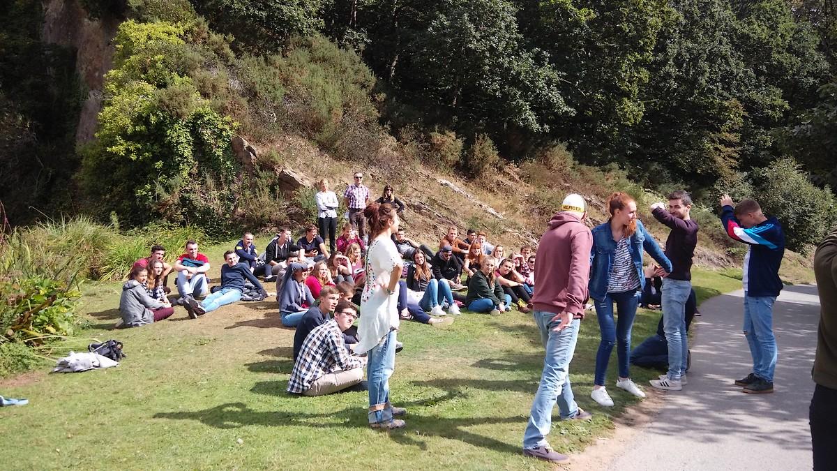 Journée d'intégration pour tous les BTS au Conservatoire botanique de Brest