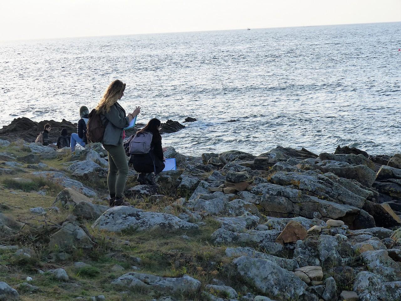 Les BTS GPN à la découverte du Golfe du Morbihan