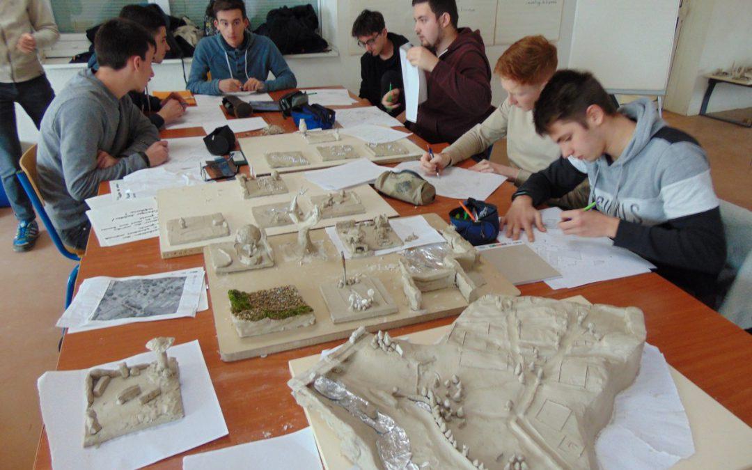 Coccolithes et les BTS AP1 : Une semaine d'immersion dans l'étude du projet paysager