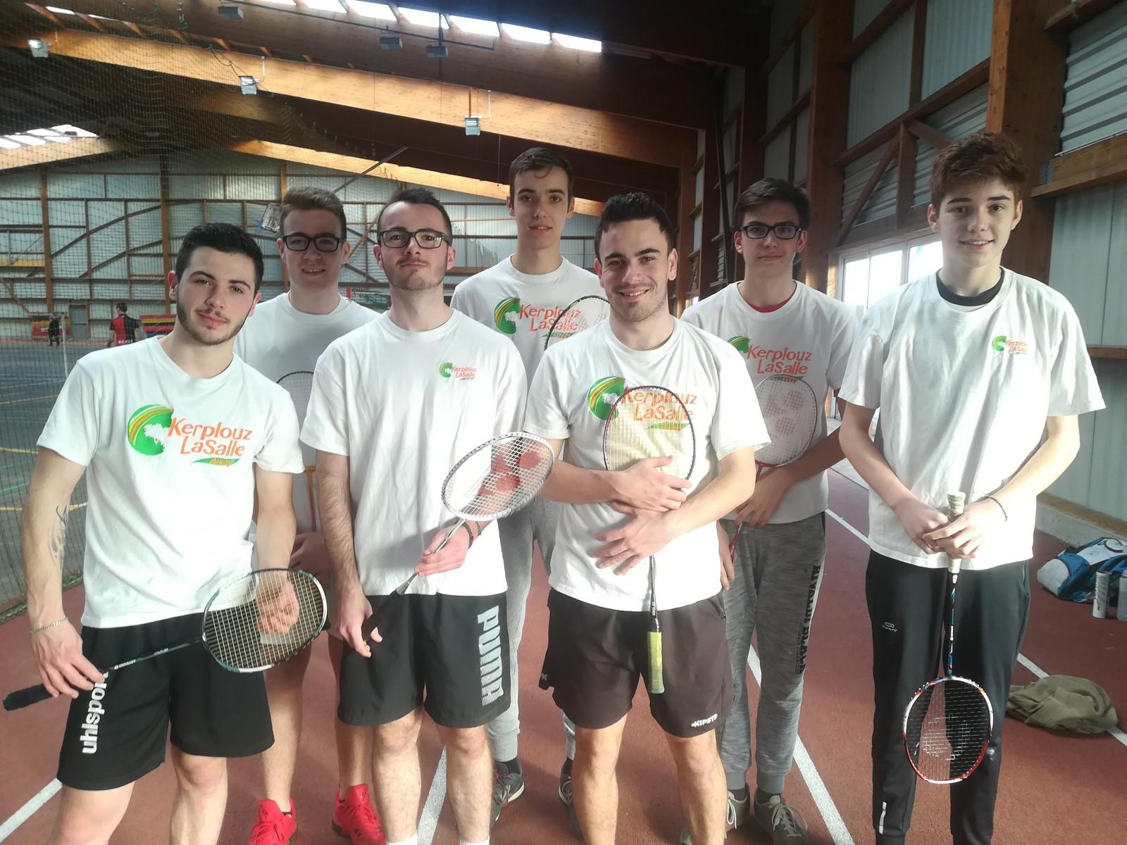 Bad à Boum !! Robbie Annézo, Champion du Morbihan de Badminton