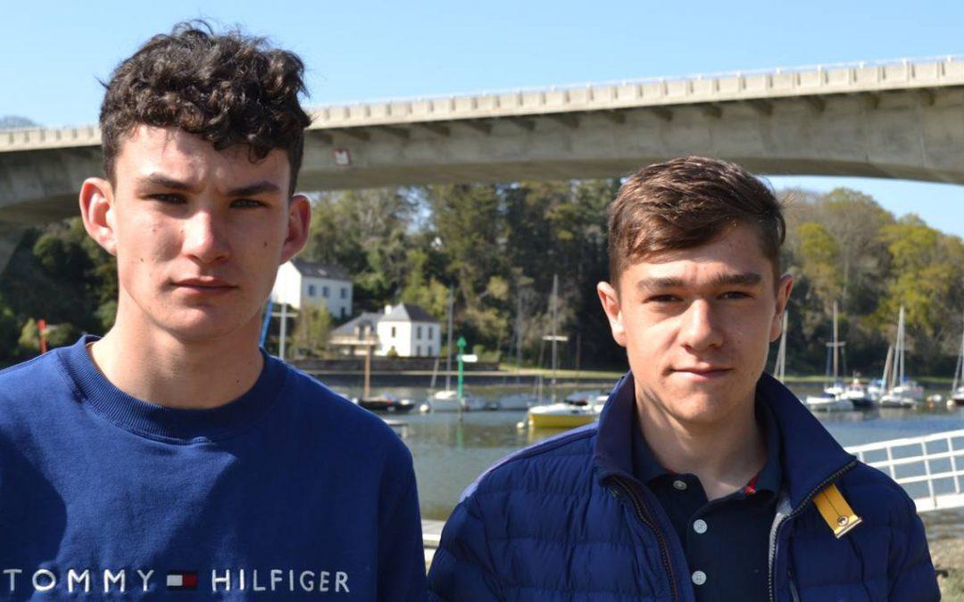 Le témoignage de deux adolescents qui ont sauvé un homme de la noyadeà Auray