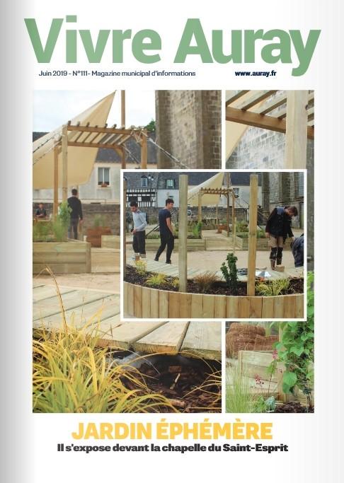 Jardin éphémère : il s'expose devant la chapelle du Saint-Esprit