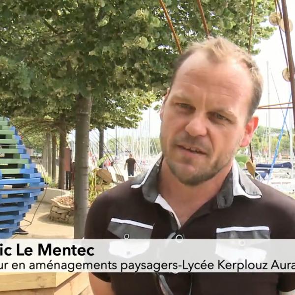 L'UFA sur TébéSud à l'occasion des jardins éphémères de Vannes
