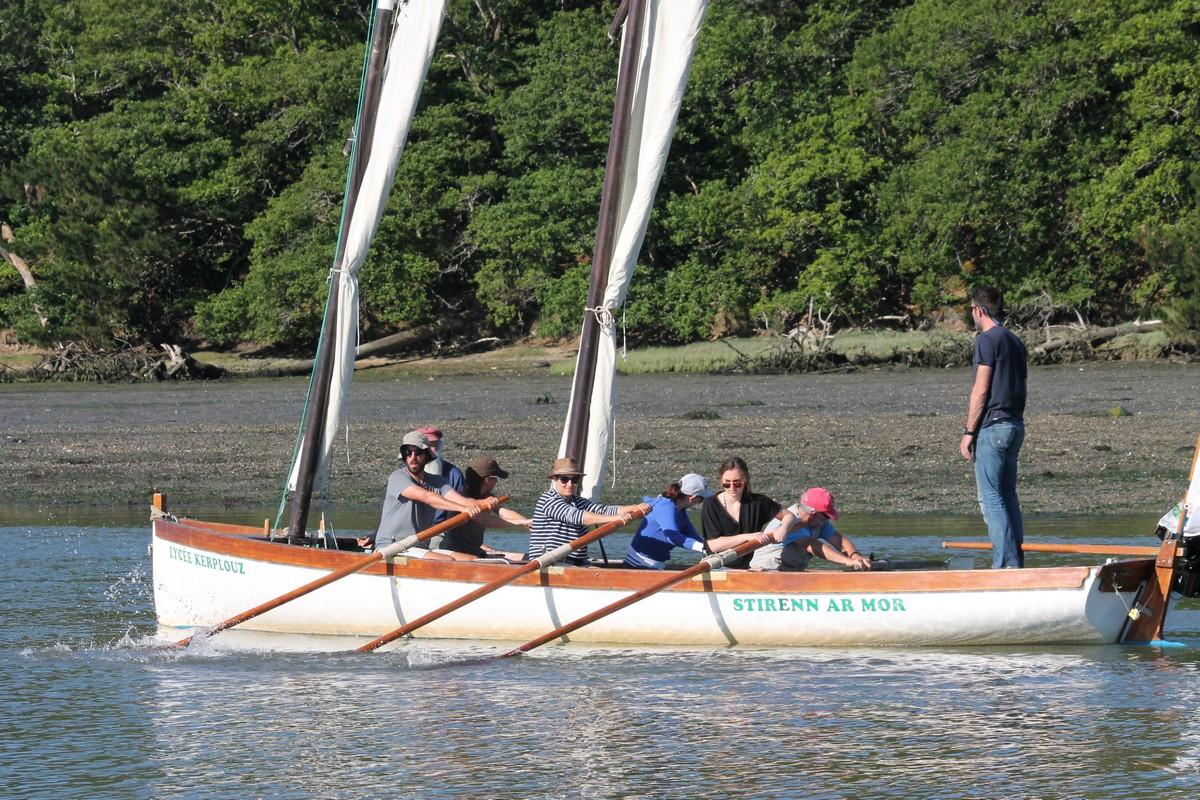 Titre un peu «bateau» : la yole présente à la 10ème édition de la Semaine du Golfe