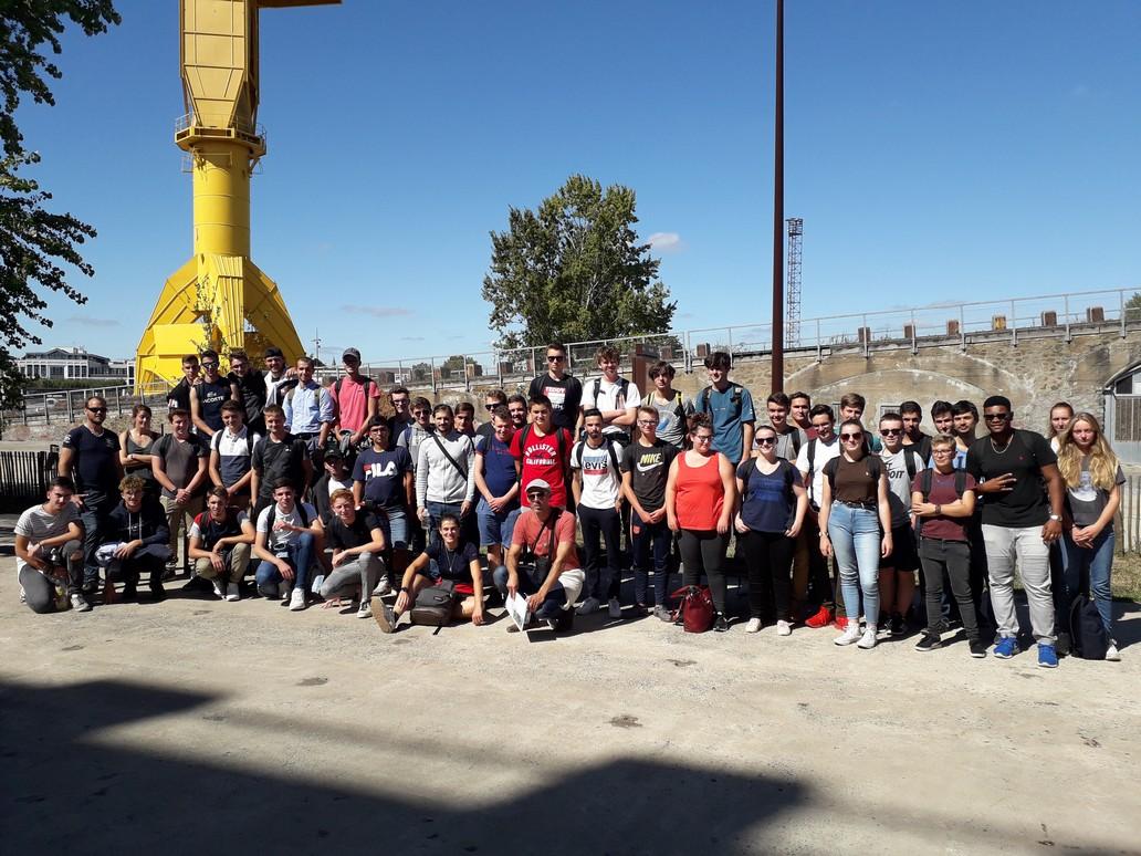 Journées d'intégration à Nantes des BTS AP scolaires et apprentis – 12 et 13 septembre 2019