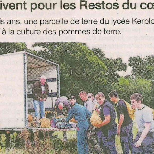 Restos. Des pommes de terre de Kerplouz