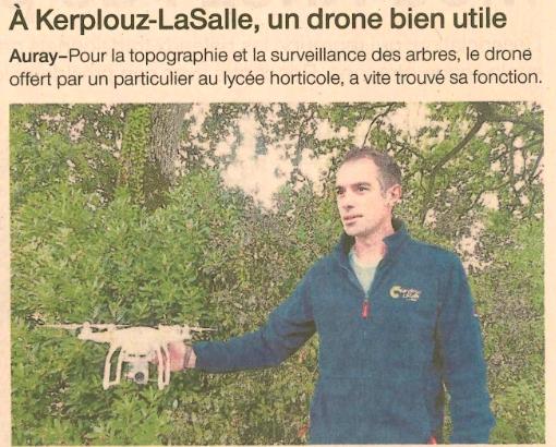 A Kerplouz-LaSalle, un drone bien utile