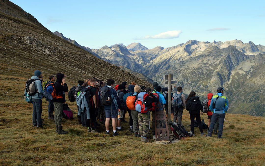 Cheminer une semaine en haute-montagne… Pyrénées, Ariège – BTS GPN 2