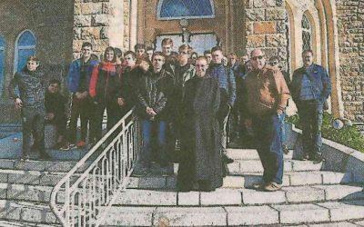 Les lycéens de Kerplouz dans les jardins des abbayes