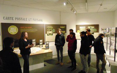 Les BTS AP1 visitent le musée de la carte postale à Baud