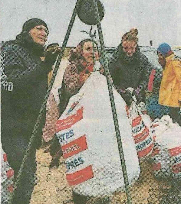 Plage de Mané Guen : 635 kg de déchets ramassés (2 articles à consulter)