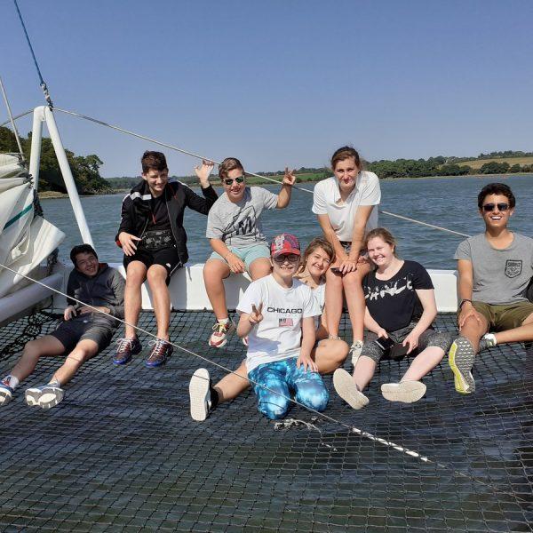 ULIS : sortie algues et voile à Locmariaquer