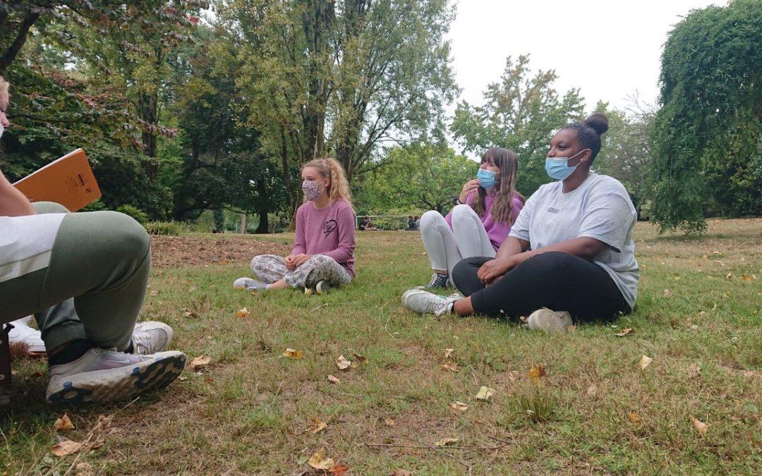 Une séance de «pluri» teintée de vert à l'occasion du World Clean Up Day