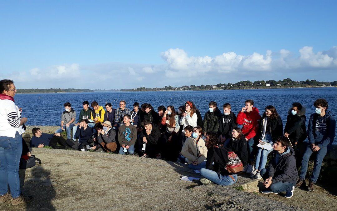 En BTS GPN1, une semaine pour appréhender le littoral et ses enjeux