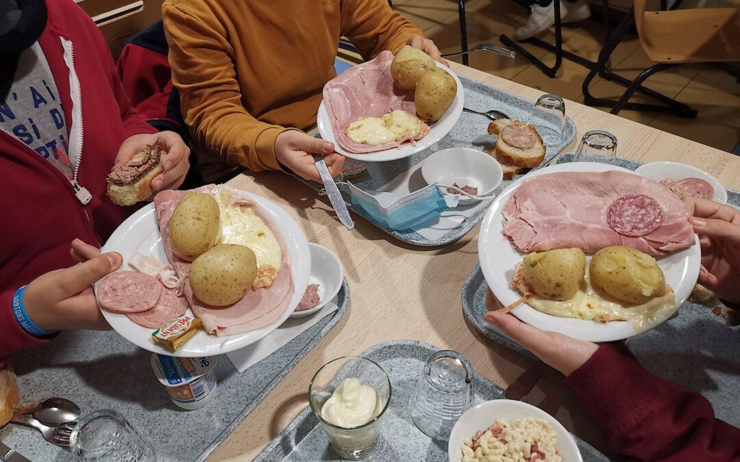 Raclette Party pour les internes !