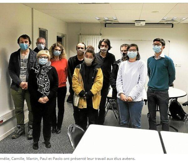 Les BTS du lycée Kerplouz dressent le bilan de santé de la lande de Kerbotin à Saint-Avé