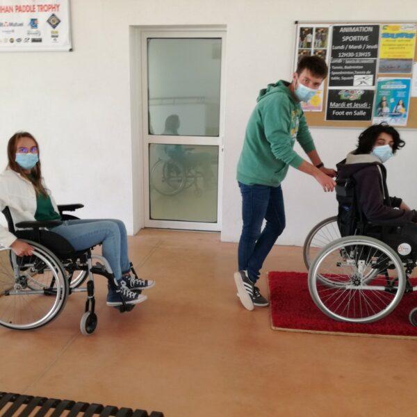 Pluri SAPVER : voir, écouter et vivre des situations de handicap moteur